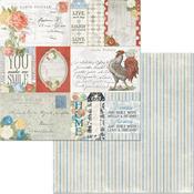 Boulevard de France Paper - Boulevard - Bo Bunny