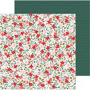 Deck The Halls Paper - Merry Little Christmas - Pebbles