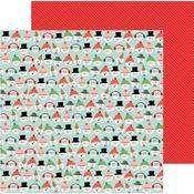 Snow Friends Paper - Merry Little Christmas - Pebbles