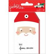 Merry Little Christmas Tags - Pebbles