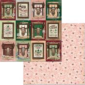 Reindeer Paper - Christmas Treasures - Bo Bunny