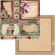 Dear Santa Paper - Christmas Treasures - Bo Bunny