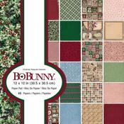 Christmas Treasures 12 x 12 Paper Pad - Bo Bunny
