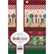 Christmas Treasures 6 x 8 Foil Accented Paper Pad - Bo Bunny