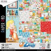 Zoe & Ziggy Ciao Bella 12 x 12 Double-Sided Paper Pack