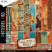 Collateral Rust 12 x 12 Paper Pack 8 Sheets Ciao Bella