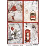 Snow & The City Cards A4 Paper Sheet - Ciao Bella