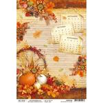 The Sound Of Autumn A4 Paper Sheet - Ciao Bella