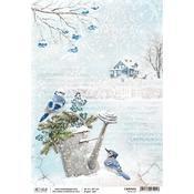 Blue Jay A4 Paper Sheet - Ciao Bella