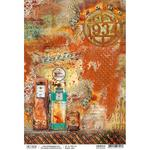 Gas Station A4 Paper Sheet - Ciao Bella