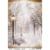 First Fall Of Snow A4 Paper Sheet - Ciao Bella