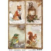 The Sound Of Winter Cards A4 Paper Sheet - Ciao Bella