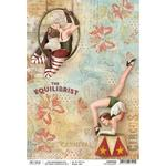 The Equilibrist A4 Paper Sheet - Ciao Bella