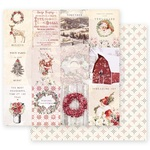 Spreading Christmas Magic Paper - Christmas In The Country - Prima - PRE ORDER