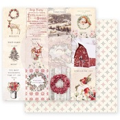 Spreading Christmas Magic Paper - Christmas In The Country - Prima