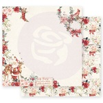 Sweet Santa Claus Paper - Christmas In The Country - Prima - PRE ORDER