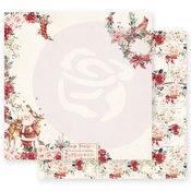 Sweet Santa Claus Paper - Christmas In The Country - Prima