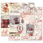 Compliments of the Season Paper - Christmas In The Country - Prima - PRE ORDER