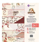 Christmas In The Country Paper Pad - Prima
