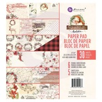 """Christmas In The Country 8""""x 8"""" Paper Pad - Prima"""