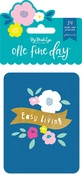 One Fine Day Journal Cards - My Minds Eye - PRE ORDER