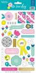One Fine Day Sticker Sheet - My Minds Eye - PRE ORDER