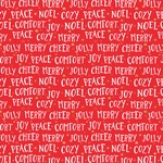 Comfort & Joy Foil Accented Paper - Holly Jolly - My Minds Eye - PRE ORDER