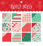 Holly Jolly  6×6 Paper Pad - My Minds Eye - PRE ORDER