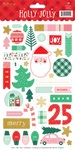 Holly Jolly Sticker Sheet - My Minds Eye - PRE ORDER