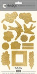 My Heritage Gold Embossed Stickers - My Minds Eye - PRE ORDER