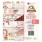 Christmas In The Country 6 x 6 Paper Pad - Prima