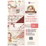 A4 Paper Pad - Christmas In The Country - Prima