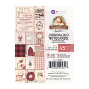 3X4 Journaling Cards - Christmas In The Country - Prima