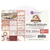 4X6 Journaling Cards - Christmas In The Country - Prima