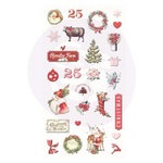 Christmas In The Country - Puffy Stickers - Prima
