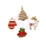 Christmas In The Country - Enamel Charms - Prima