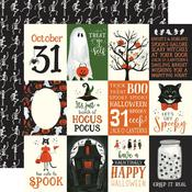 "3""X4"" Journaling Cards Paper - Trick or Treat - Echo Park"