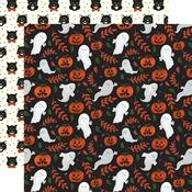 Spooky Ghosts Paper - Trick or Treat - Echo Park