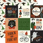 "4""X4"" Journaling Cards Paper - Trick or Treat - Echo Park"