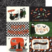 "4""X6"" Journaling Cards Paper - Trick or Treat - Echo Park"