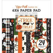 "Trick or Treat 6""X6"" Paper Pad - Echo Park"