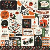 Trick or Treat Element Stickers - Echo Park