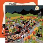 Halloween Town Paper - Happy Halloween - Carta Bella