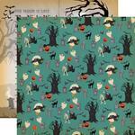 Graveyard Paper - Happy Halloween - Carta Bella