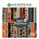 "Happy Halloween 6""X6"" Paper Pad - Carta Bella"