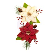Sleigh Ride Flowers - Christmas In The Country - Prima