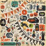Element Stickers - Happy Halloween - Carta Bella