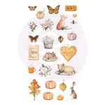 Autumn Sunset - Puffy Stickers - Prima