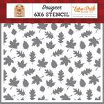 """Fall Breeze 6""""X6"""" Stencil - My favorite Fall - Echo Park"""