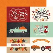 "4""X6"" Journaling Cards Paper - My Favorite Fall - Echo Park"